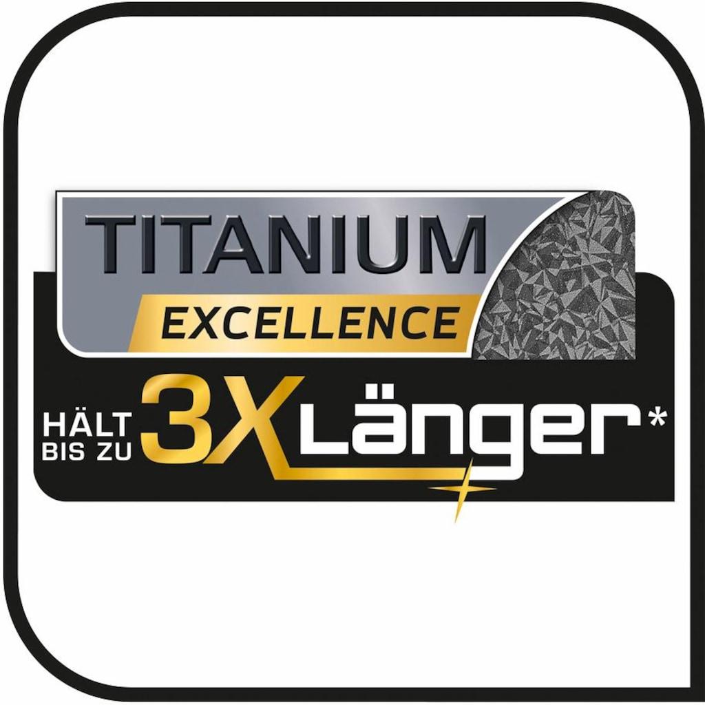 Tefal Schmorpfanne »Hard Titanium Plus«, Aluminium, (1 tlg.), Induktion