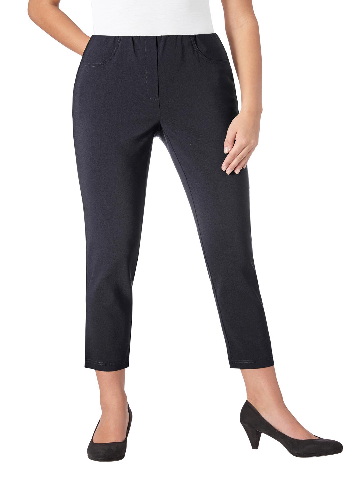 Lady 7/8-Hose in hochwertiger Bengalin-Qualität | Bekleidung > Hosen > 7/8-Hosen | Blau | Lady