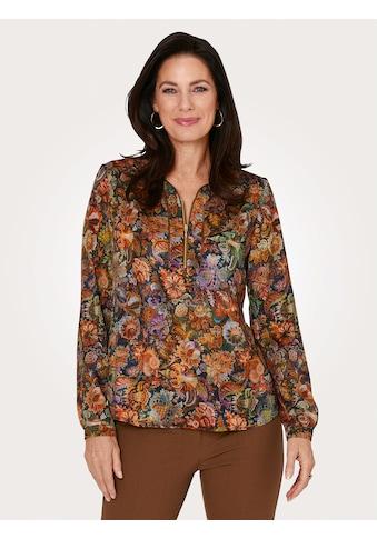 Mona Schlupfbluse, mit dekorativem Halsausschnitt kaufen