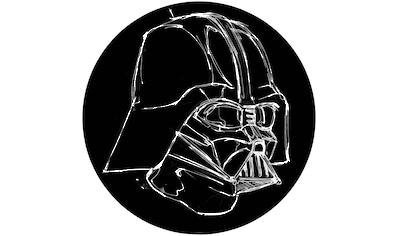 Komar Fototapete »Star Wars Ink Vader«, bedruckt-Comic-Retro-mehrfarbig, BxH: 128x128... kaufen