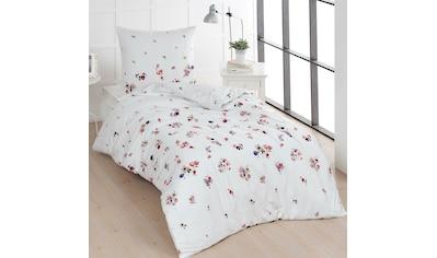 TRAUMSCHLAF Bettwäsche »Claude«, romantisches Blumendesign kaufen