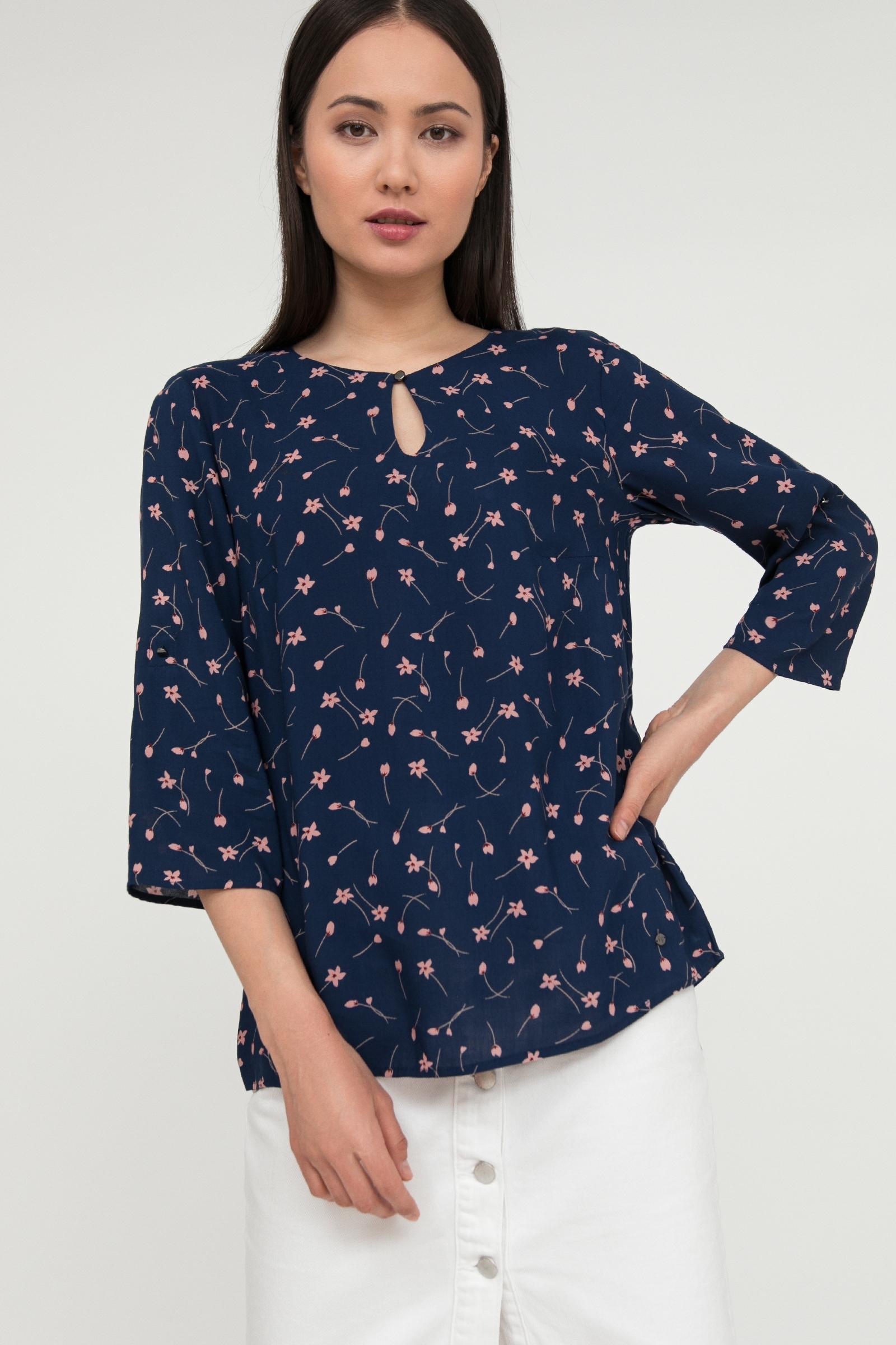 finn flare klassische bluse Lässige Freizeitbluse von Finn Flare für Damen AKLBB1174371716