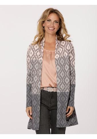 Mona Strickjacke mit softem Degradé - Farbverlauf kaufen