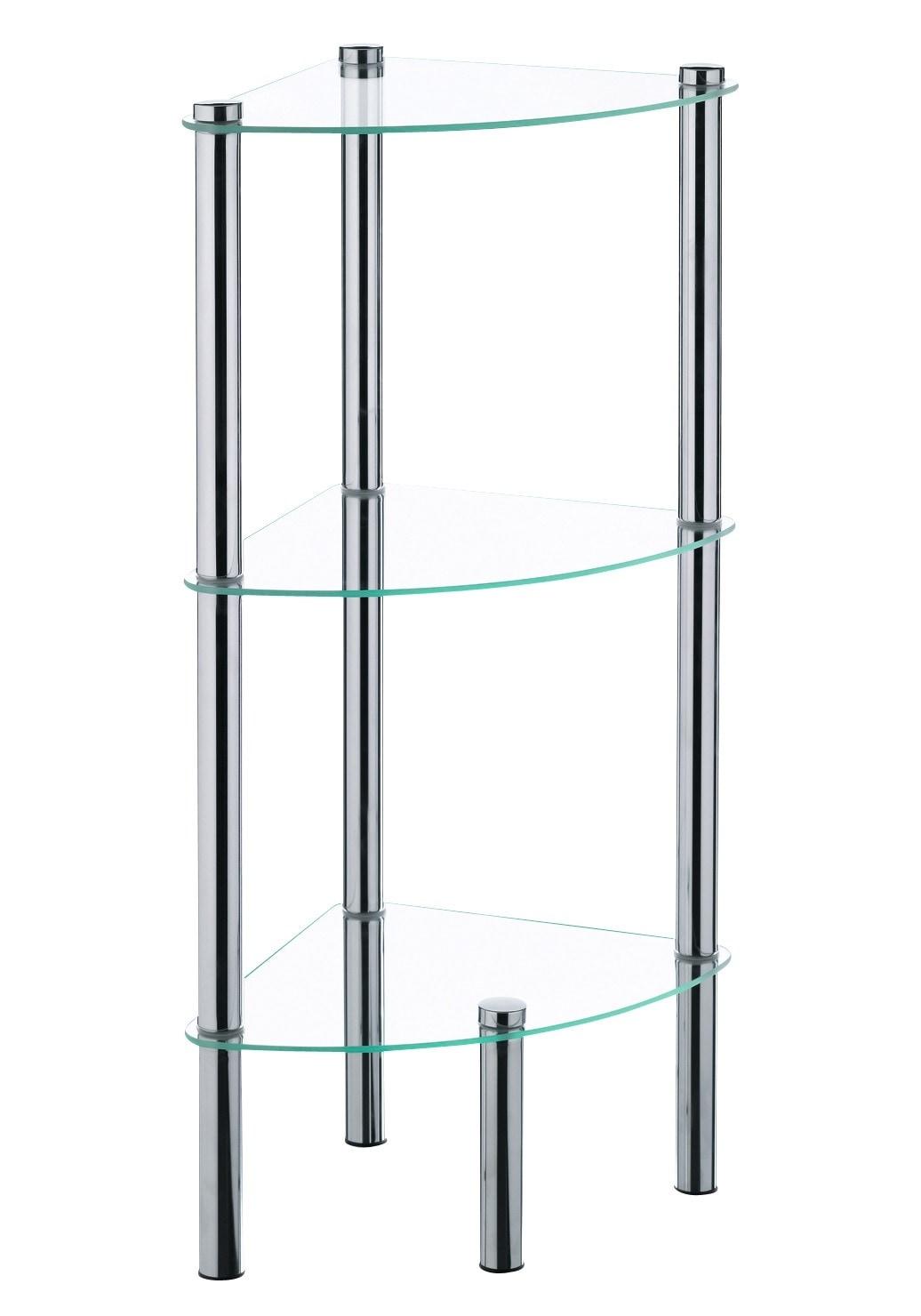 Badregal-Badezimmer-Regal-Kela-Wohnen-Badregale-Mit-Glasboeden-Regale Indexbild 3