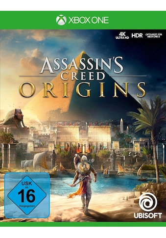 UBISOFT Spiel »Assassin's Creed Origins«, Xbox One, Software Pyramide kaufen