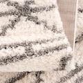 Carpet City Hochflor-Teppich »Pulpy 530«, rechteckig, 30 mm Höhe, mit Fransen, Wohnzimmer