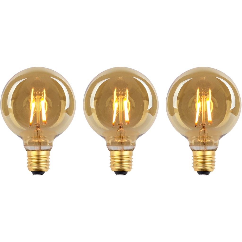 näve LED-Leuchtmittel »LED Leuchtmittel E27/4W 3er-Set«, E27, 3 St., Warmweiß, Set - 3stück, dimmbar
