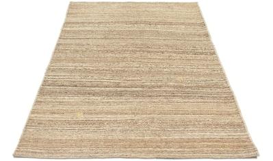 morgenland Wollteppich »Gabbeh Teppich handgeknüpft natur«, rechteckig, 18 mm Höhe,... kaufen