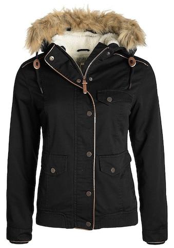 DESIRES Winterjacke »Annika«, warme Jacke mit abnehmbarem Kunstfellkragen kaufen