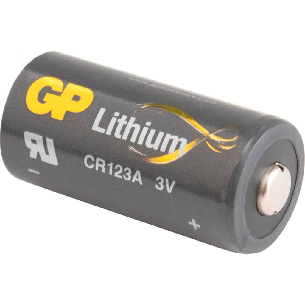 GP Batteries Batterie »CR123A Batterie GP Lithium 4 Stück«, 3 V