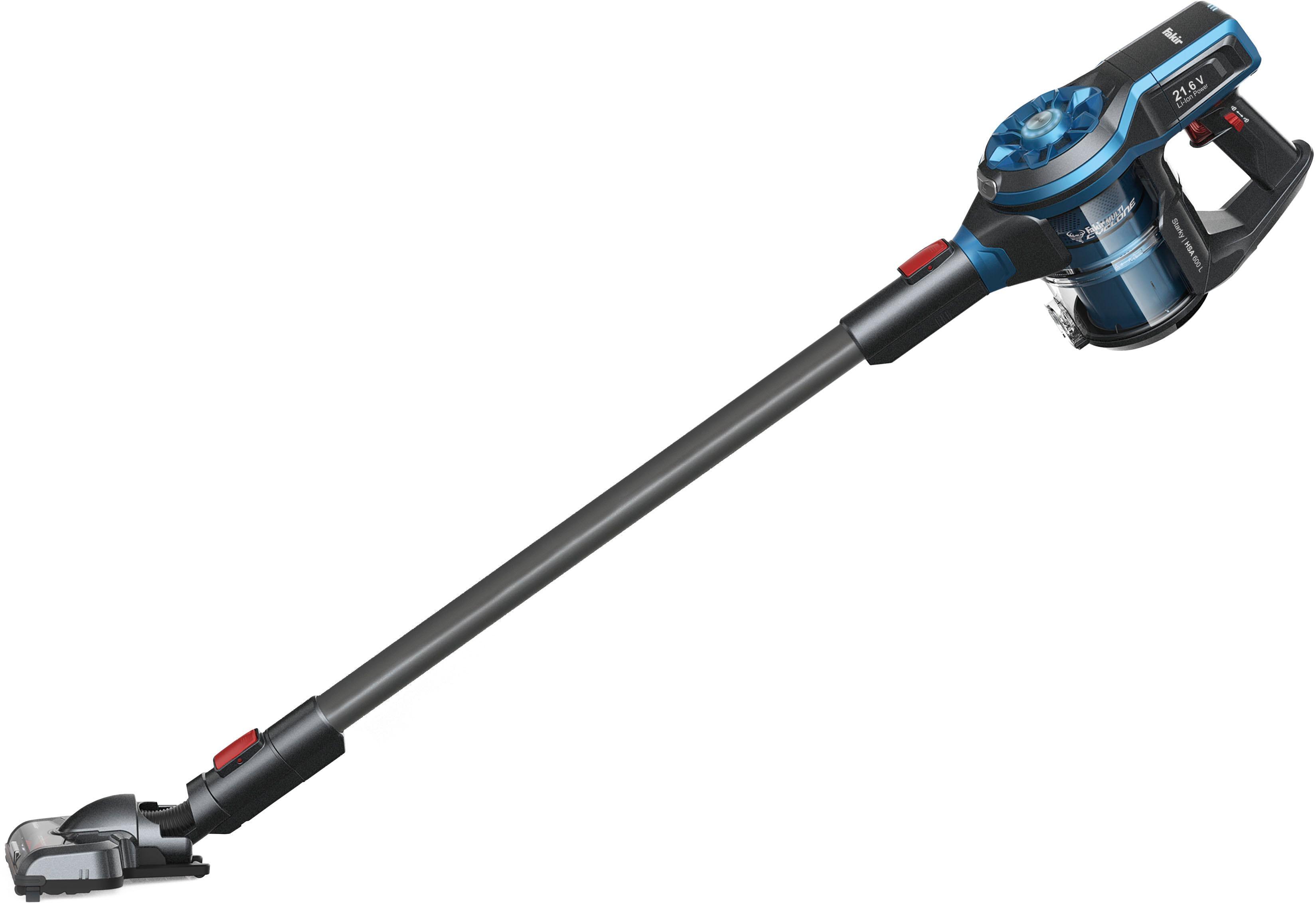 FAKIR Akku-Hand-und Stielstaubsauger Starky HSA 600 L 21 6 Watt beutellos   Flur & Diele > Haushaltsgeräte > Staubsauger   Blau   Fakir