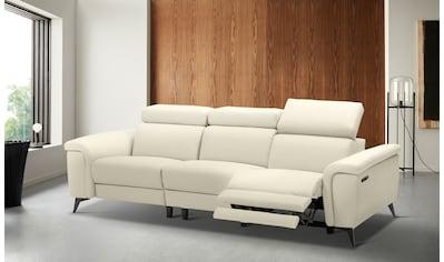 Places of Style 3-Sitzer »Marita«, mit 1 elektrischer Relaxfunktion und USB-Anschluß kaufen