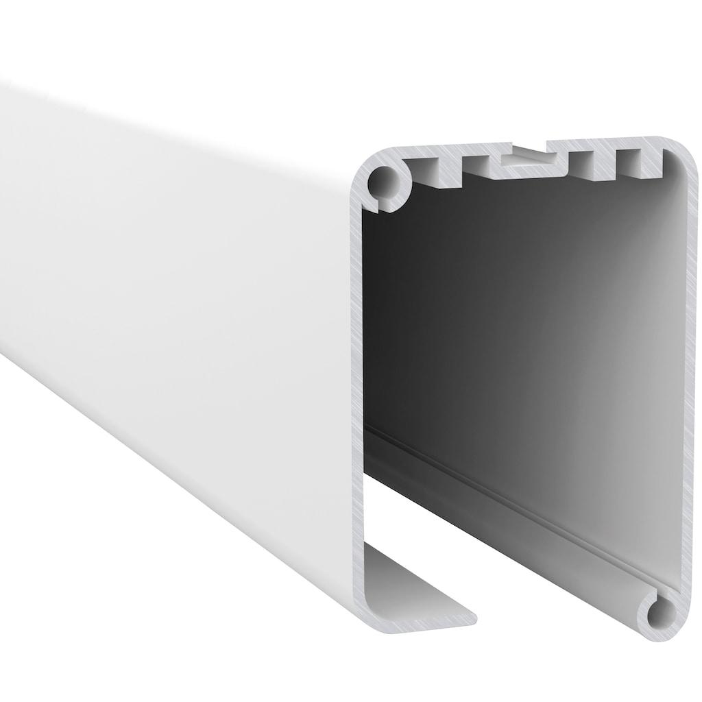 hecht international Insektenschutz-Rollo »SMART«, für Fenster, weiß/anthrazit, BxH: 80x160 cm