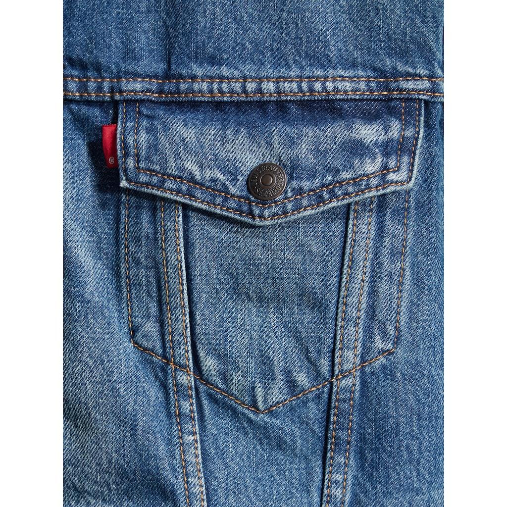 Levi's® Jeansjacke »TYPE 3 SHERPA TRUCKER«, mit Fellimitat