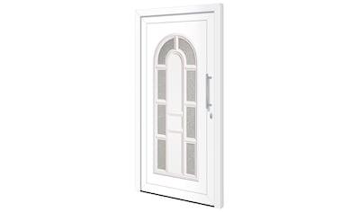 RORO Türen & Fenster Haustür »Otto 18«, BxH: 100x200 cm, weiß, ohne Griff kaufen