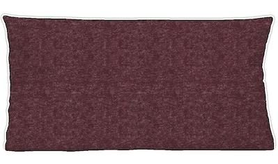 Biberna Kissenbezug »Hermal«, (2 St.), uni-melange kaufen
