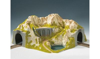"""NOCH Modelleisenbahn - Tunnel """"Ecktunnel, 1 - gleisig, gebogen"""", Spur H0 kaufen"""