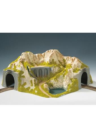 NOCH Modelleisenbahn-Tunnel »Ecktunnel, 1-gleisig, gebogen«, Made in Germany kaufen