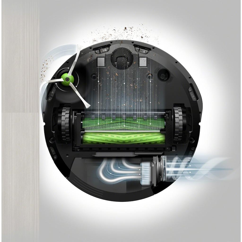 iRobot Saugroboter »Roomba® i4+ (i4558) WLAN-fähig mit Kartierung und automatischer Absaugstation,«, ideal bei Haustieren