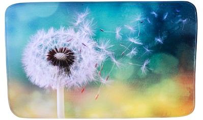Sanilo Badematte »Pusteblume«, Höhe 15 mm, schnell trocknend, Memory Schaum kaufen
