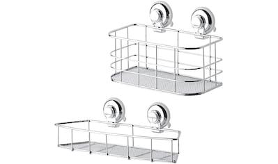 Badaccessoires - Sets »Aufbewahrung HOOKIE System® 2 - teilig«, mit Allzweckkorb und Allzweckkorb flach kaufen