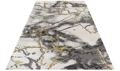Festival Teppich »Opal 750«, rechteckig, 12 mm Höhe, Hoch-Tief-Effekt, Marmor Optik,... kaufen