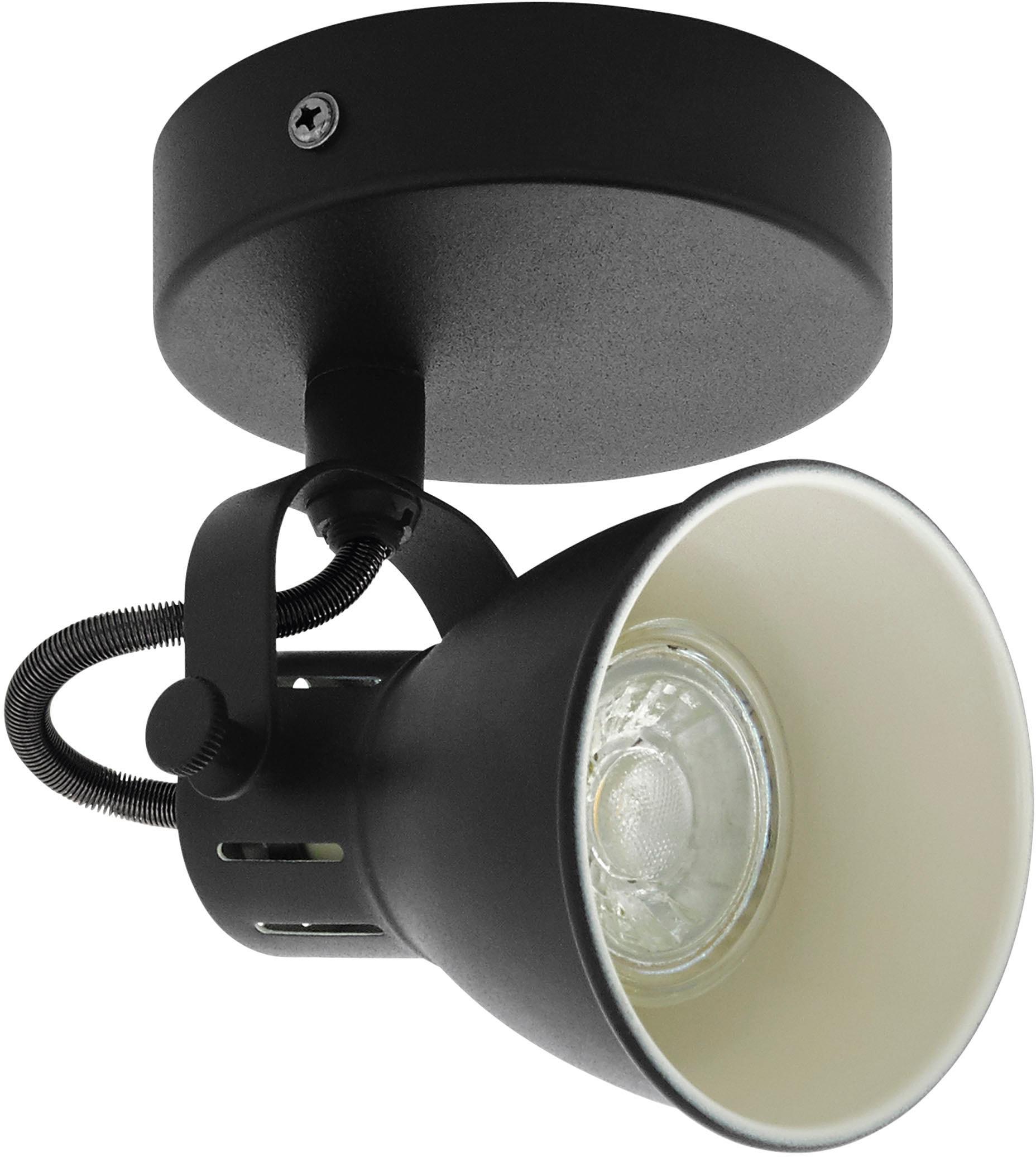 EGLO LED Wandleuchte SERAS 2, LED-Board-GU10, Warmweiß