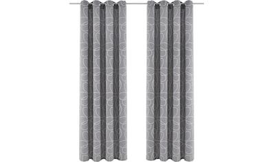 Vorhang, »Zary«, my home, Ösen 1 Stück kaufen