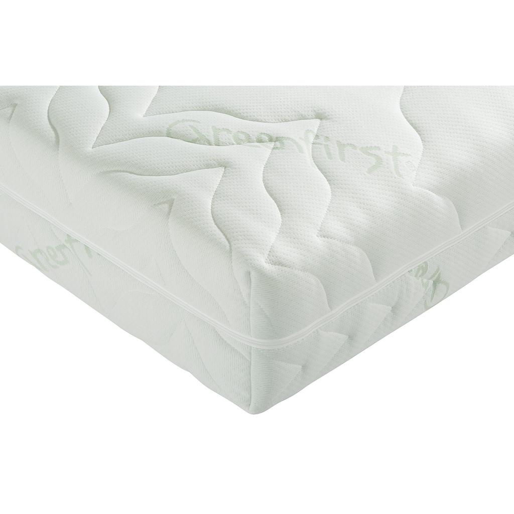 BeCo EXCLUSIV Taschenfederkernmatratze »Vario Lux Greenfirst«, 22 cm cm hoch, 480 Federn, (1 St.), Wendematratze mit zwei unterschiedlich festen Liegeseiten