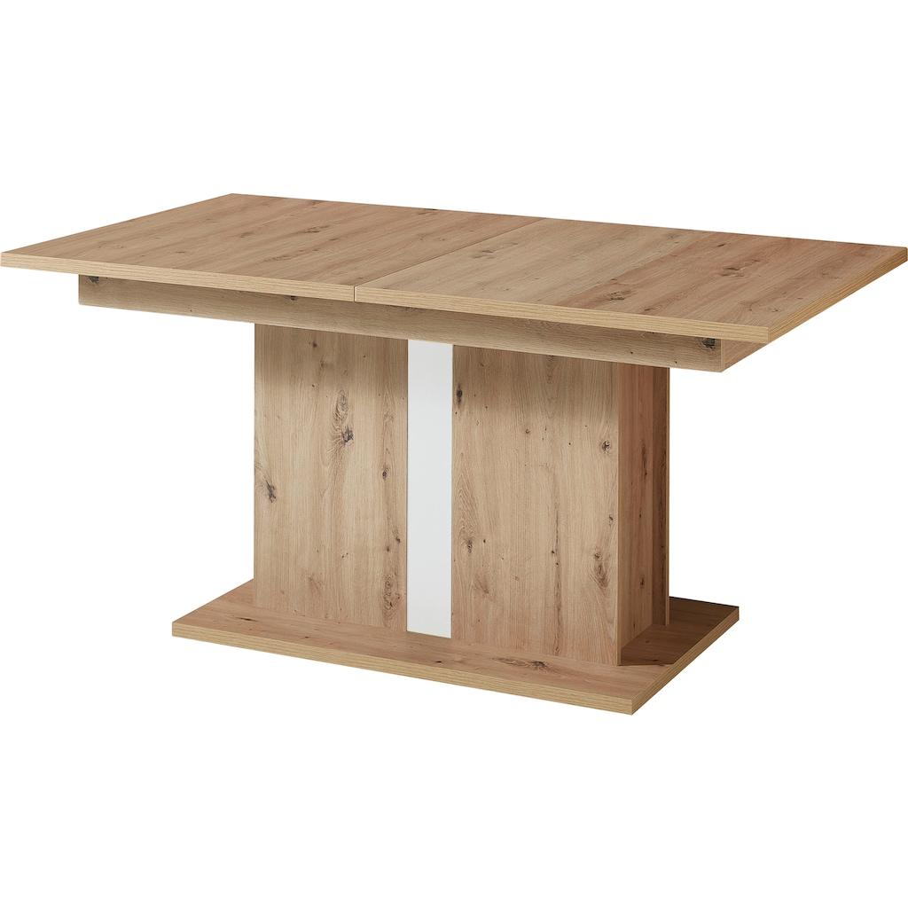 Innostyle Esstisch »Loft Two«, mit Auszug-Funktion
