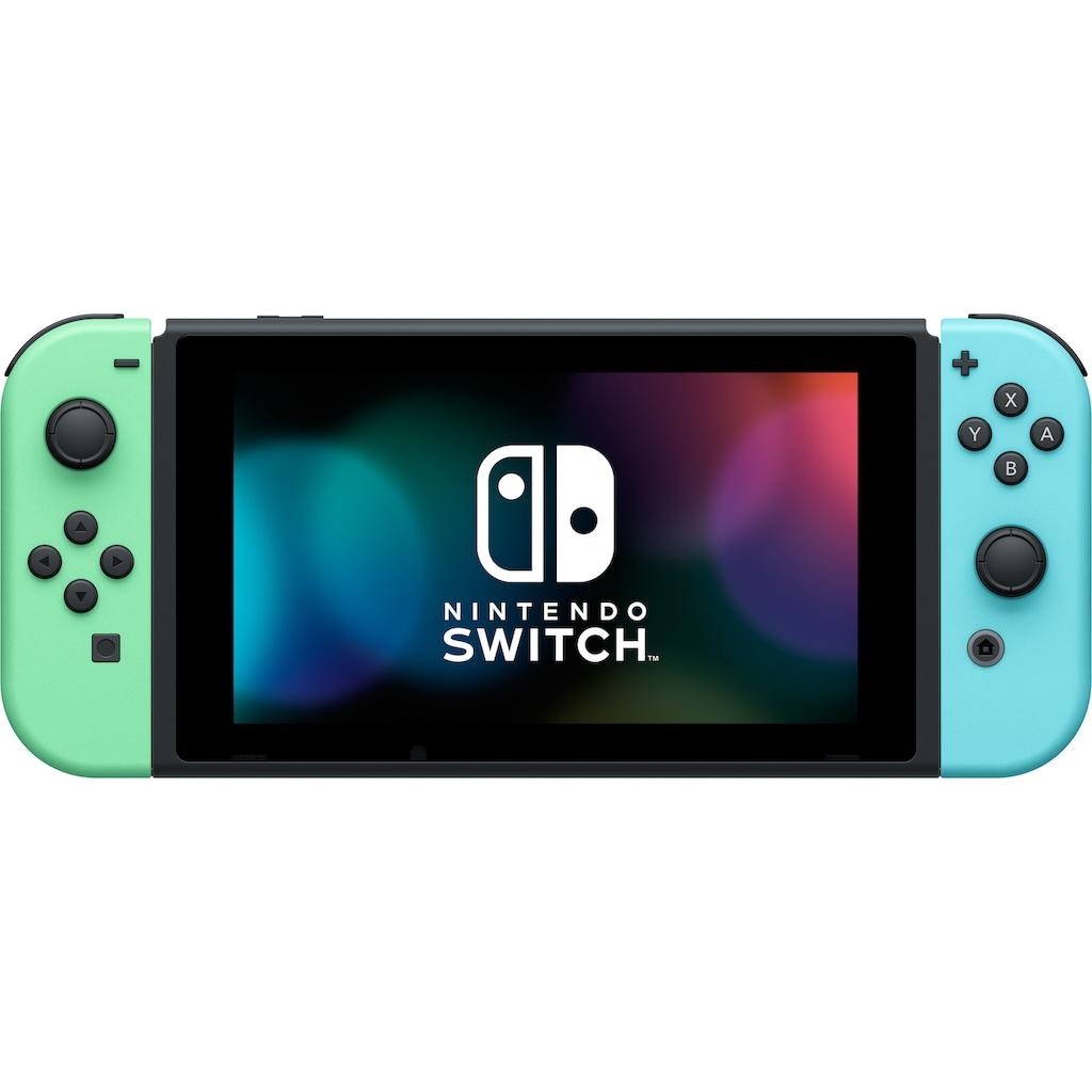 Nintendo Switch Konsole, (Limited Edition), inkl. Animal Crossing Tasche