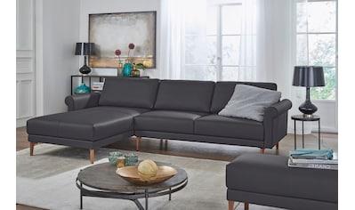 hülsta sofa Ecksofa »hs.450«, im modernen Landhausstil, Breite 282 cm kaufen