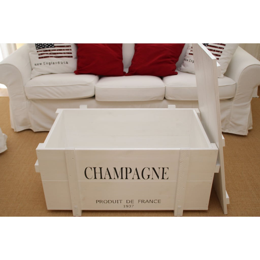 Uncle Joe´s Truhentisch »Champagne«, mit hochwertiger Verarbeitung
