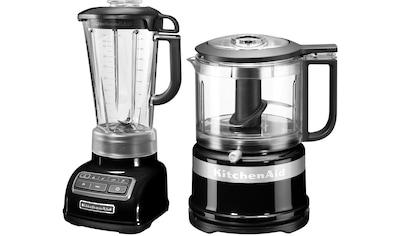KitchenAid Standmixer 5KSB1585EOB und Mini Zerkleinerer 5KFC3516, 550 Watt kaufen
