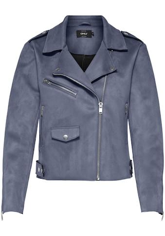 Only Bikerjacke »ONLSHERRY«, mit Zipper Details kaufen