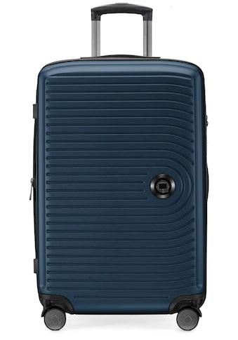 Hauptstadtkoffer Hartschalen-Trolley »Mitte, dunkelblau, 68 cm«, 4 Rollen kaufen