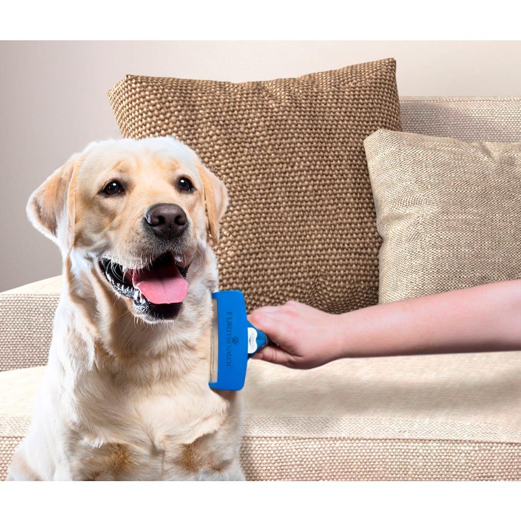 FURminator Fellbürste »L«, Metall, Kurzhaarpflege für große Hunde
