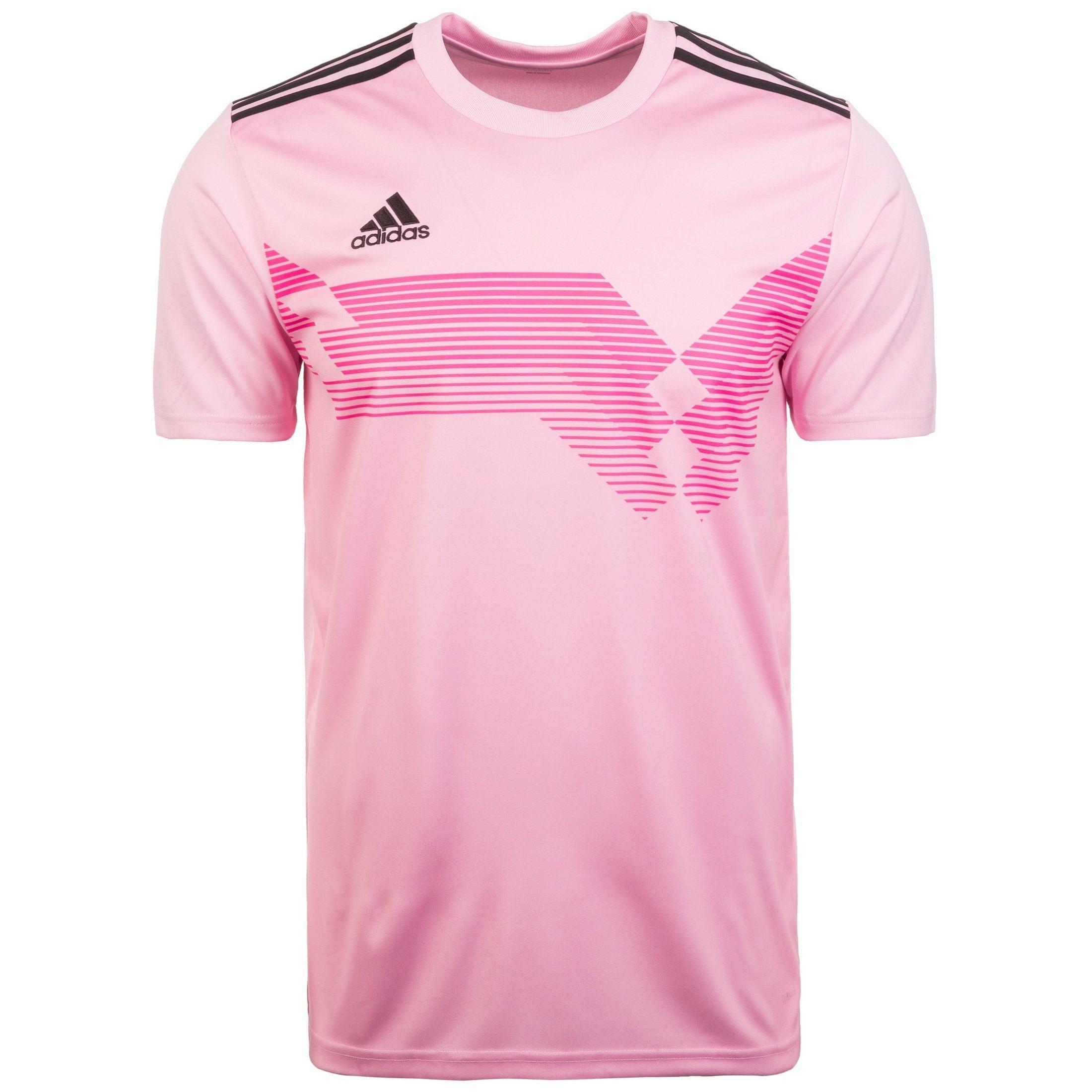 adidas Performance Fußballtrikot Campeon 19 Herren | Sportbekleidung > Trikots > Fußballtrikots | Rosa | Trikot - Jersey - Interlock | Adidas Performance