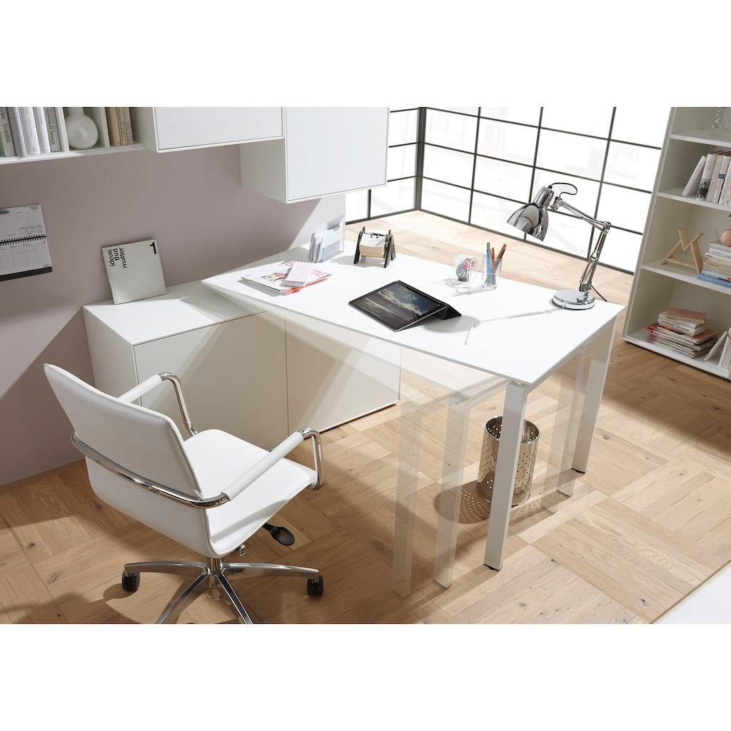 now! by hülsta Schreibtisch »now! easy«, (Set), Kombination Sideboard mit Arbeitstisch