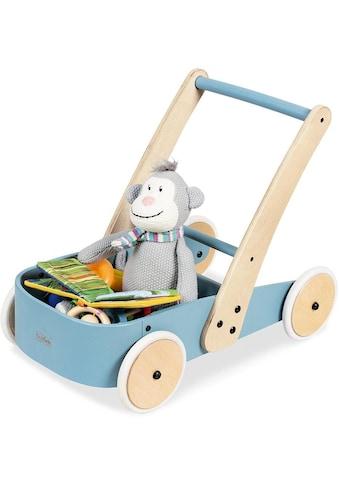 Pinolino® Lauflernwagen »Fiete, blau«, aus Holz kaufen