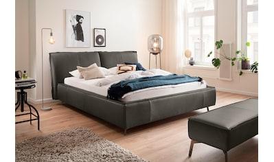 Places of Style Polsterbett »Tramonto«, in 3 Bezugsqualitäten, Biese, Kopfteil dick... kaufen