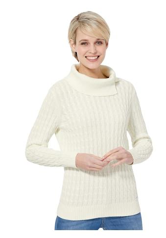 Casual Looks Pullover in klassischem Zopfmuster kaufen