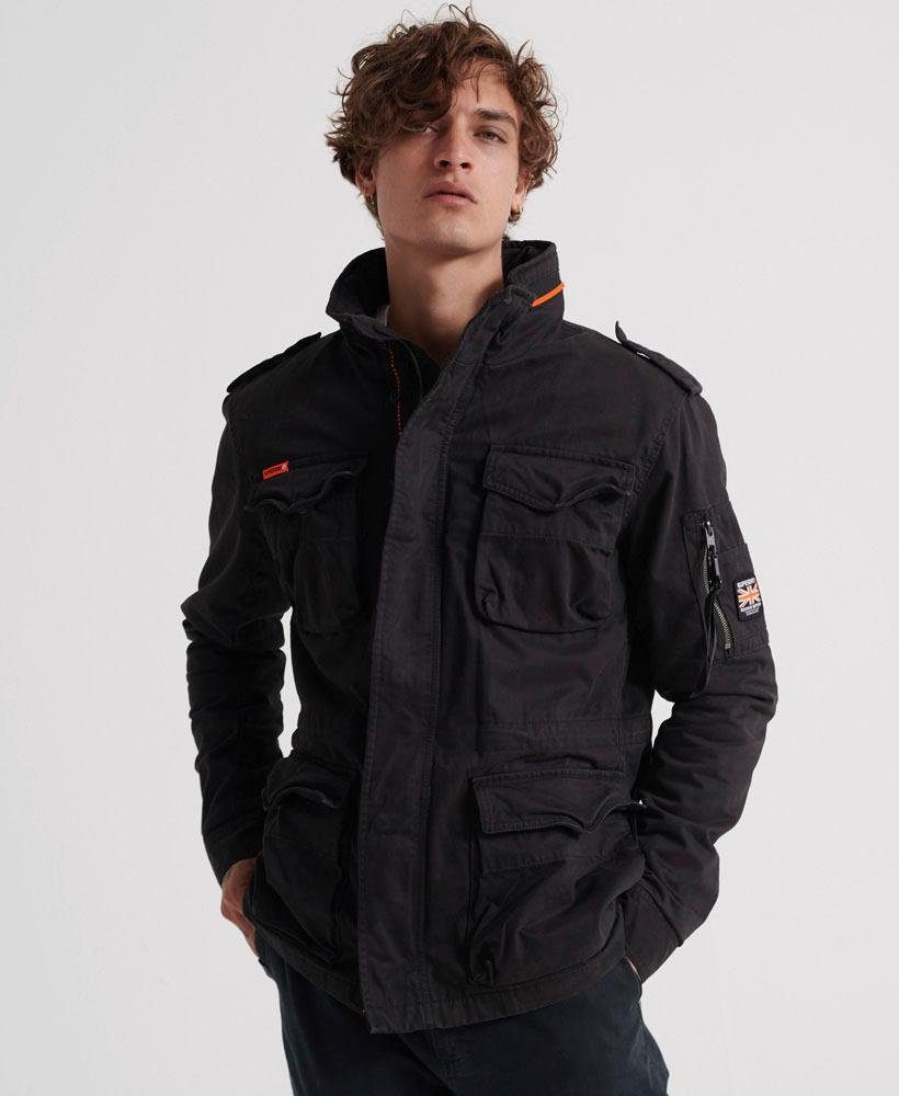 Superdry Fieldjacket CLASSIC ROOKIE 4 POCKET JACKET | Bekleidung > Jacken > Fieldjackets | Superdry