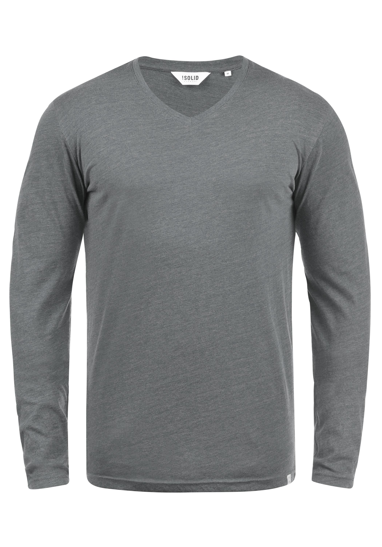 Solid Langarmshirt Beda   Bekleidung > Shirts > Langarm Shirts   Solid