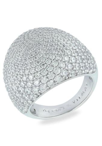 VILMAS Silberring »Large Drop, 4028146505506, 13, 4028146560796«, mit Zirkonia kaufen