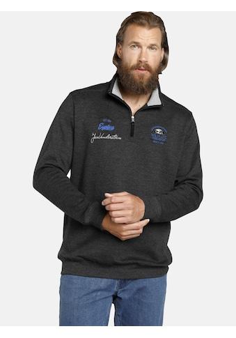 Jan Vanderstorm Sweatshirt »WOLFHARD«, weich aufgeraute Innenseite kaufen