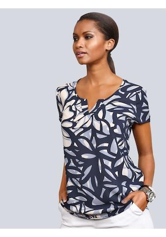 Alba Moda Blusenshirt in tollem, floralem Print kaufen