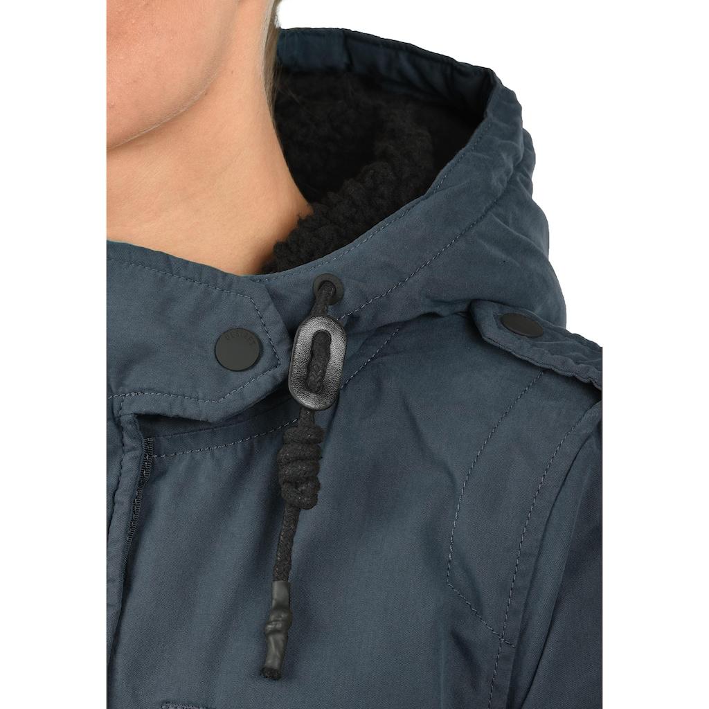 DESIRES Winterjacke »Lisa«, warme Jacke mit Teddyfutter in der Kapuze