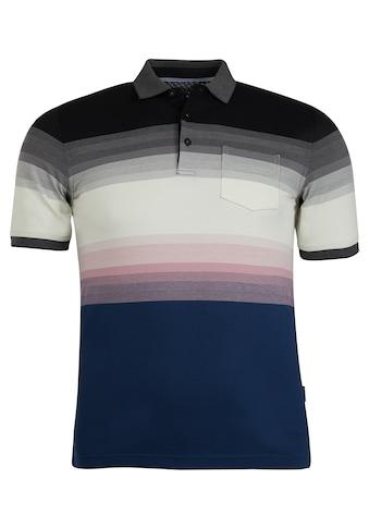Hajo Poloshirt, in Farbverlauf kaufen