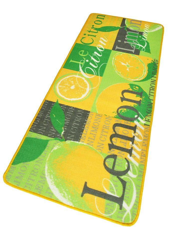 Küchenläufer Lemon HANSE Home rechteckig Höhe 8 mm maschinell getuftet